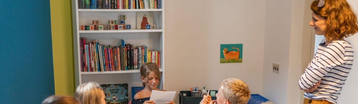Pisanje priča djecu ohrabruje i oslobađa